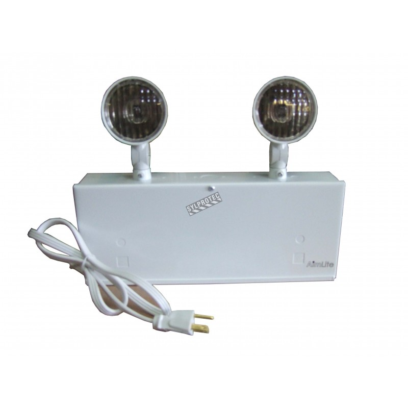 Emergency light unit 12 volts 72 watts with 2 lights