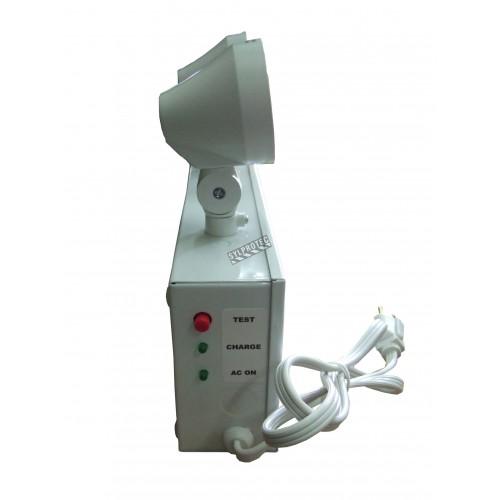 Unité d'éclairage d'urgence 6 V 36 W avec 2 phares
