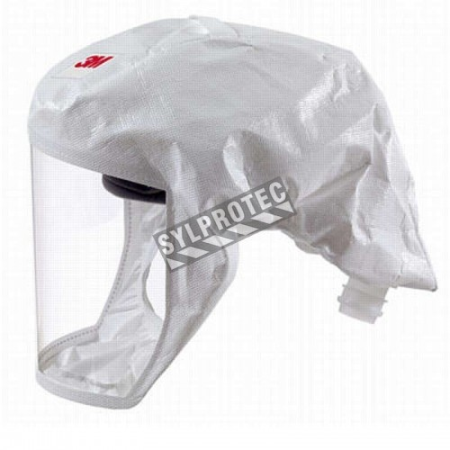 3M complete Versaflo powered air purifying respirator (PAPR) kit for pharmaceutical and health facilities. Head cover facepiece.
