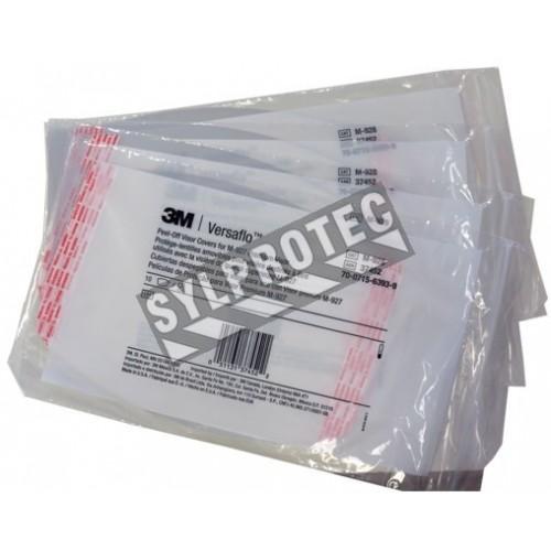 Protège-lentille amovible pour visière haut de gamme RM927. Protège la visière des égratignures et autre. 40 unités/caisse.