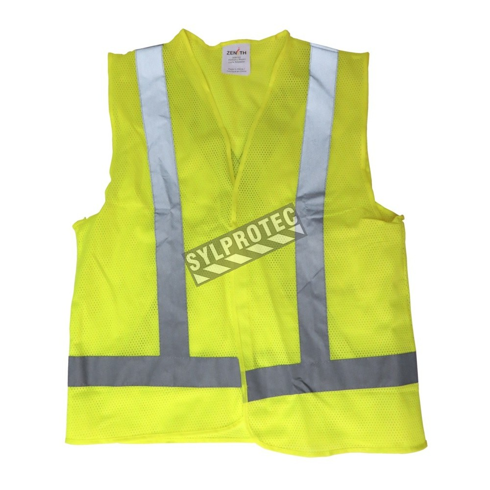 Workplace Safety Supplies Safety Vest Traffic Fluorescent Light/ Mesh Vest Security & Protection