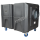 BULLDOG deluxe portable air scrubber with airflow of 1300 or 2000 cfm. Ideal for asbestos abatement & decontamination workzone