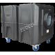 Purificateur d'air portable BULLDOG deluxe à 2 vitesses. Débit de 1300 cfm ou 2000 cfm pour désamiantage et décontamination