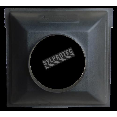 Collecteur d'admission 24 po X 24 po avec une entrée d'air d'un diamètre de 12 po pour purificateurs d'air portable HEPA-AIRE
