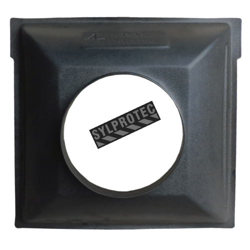 Inlet manifold 24 in X 24 in with an inlet of 12 in diameter for HEPA-AIRE portable air scrubbers