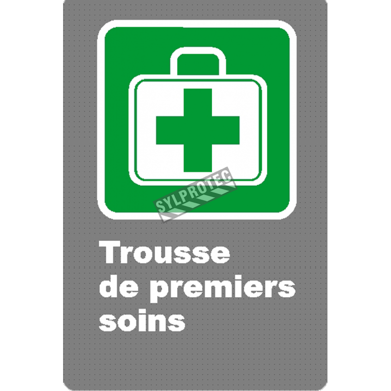 French Csa First Aid Kit Sign Many Sizes Materials