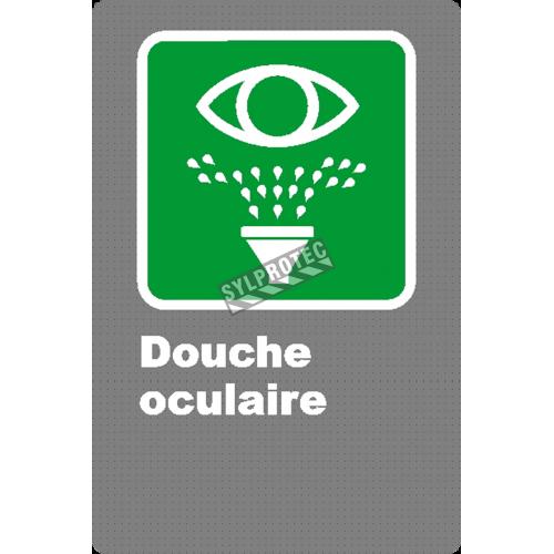 Affiche «Douche oculaire»