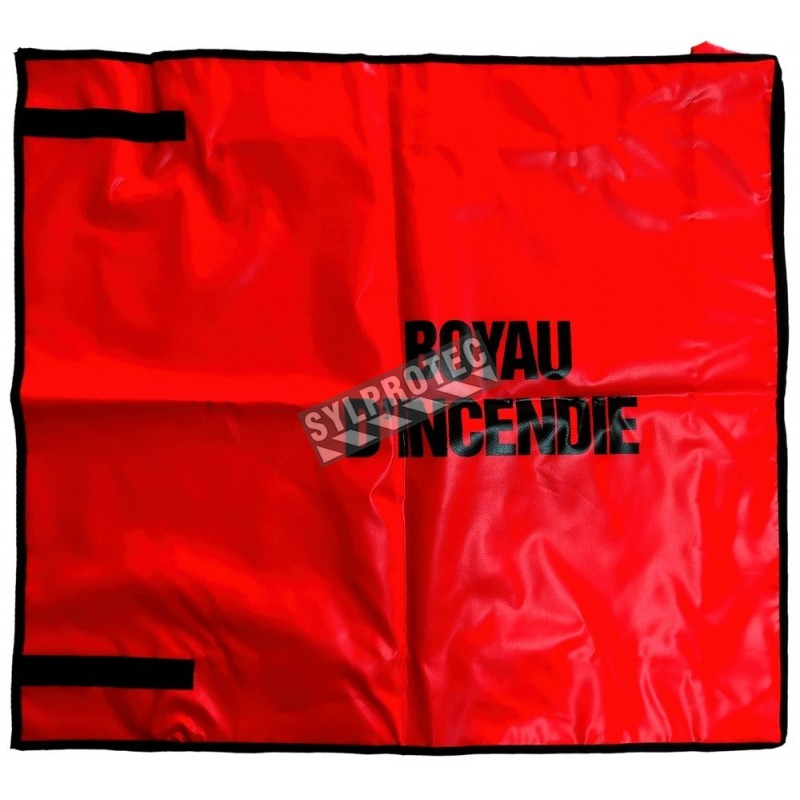 Cover for fire hose rack, 100 ft