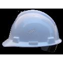 Casque de sécurité V-Gard par MSA certifié CSA & ANSI/ISEA type 1 & classe E avec coiffe à 4 points d'attache. Vendu à l'unité