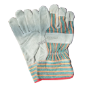 Horizon™ cost-effective split-leather & cotton gloves with safety cuffs. One-size-only for children 9 to 12. Sold in pairs.