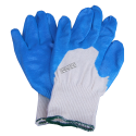Dexterity® NT cotton knit gloves with nitrile coated palms & fingers. ASTM/ANSI abrasion level 3 & puncture level 2.