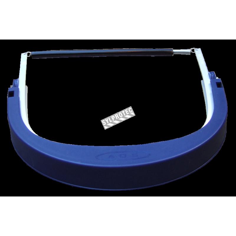 Porte-visière conçu pour les casques de sécurité de 3M pour une protection faciale sur mesure. Visière et casque non-inclus.