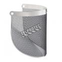 Visière grillagée en acier compatible avec tous les porte-visières de 3M. Conçu pour les travaux en milieux chauds.