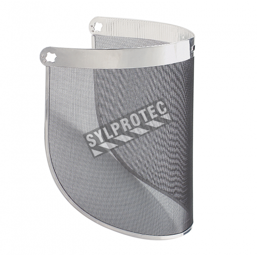3M steel mesh faceshield screen compatible with all 3M headgear. Design for wotr in warm outside environments.