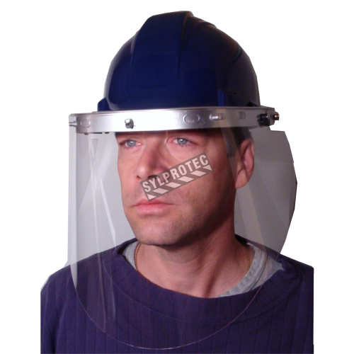 North headgear for cap-style hard hats. Easy to assemble, task specific face protection. Faceshield & hard hat not included.