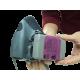 Filtre P100 pour masque de protection respiratoire de série 6000, 7000 & FF-400 de 3M. CSA & NIOSH. 12 unités (6 paires).