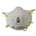 3M N95 particulate respirator with Cool Flow™ valve for protection from solids & non-oily liquids. Sold per box, 10 units/box