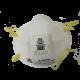 Masque de protection respiratoire 8210V avec valve de 3M, N95. Efficace contre les particules solides et liquides sans huile.