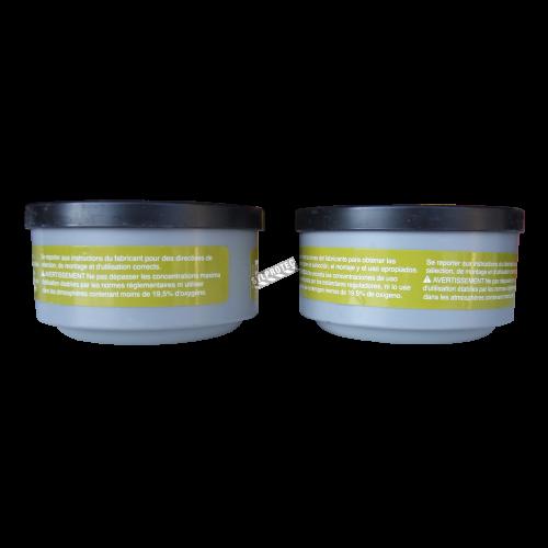 Cartouche vapeur organique, gaz acide & multi-gaz, de North compatible avec  protection respiratoire séries 5400, 7600 & 7700