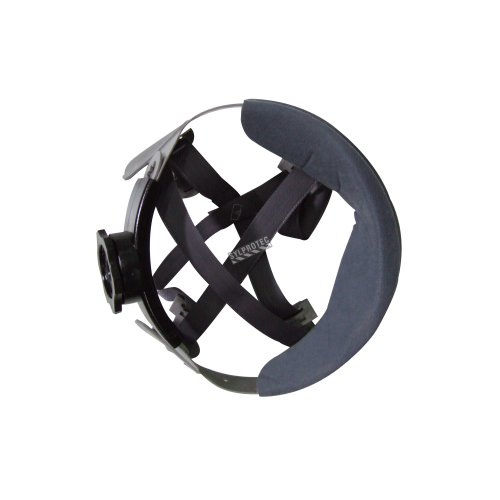 Suspension pour casque   MSA 4 points avec rochet