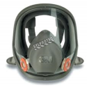 3M 6000 series NIOSH  approved full facepiece  Lightweight and comfortable. Filter and cartridge not included Large