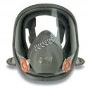Masque complet de protection respiratoire de série 6000 de 3M. Homologué NIOSH . Cartouche & filtre non-inclus. Petit