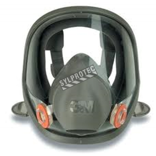 3M 6000 series NIOSH approved full facepiece. Lightweight and comfortable. Filter & cartridge not included. Small.