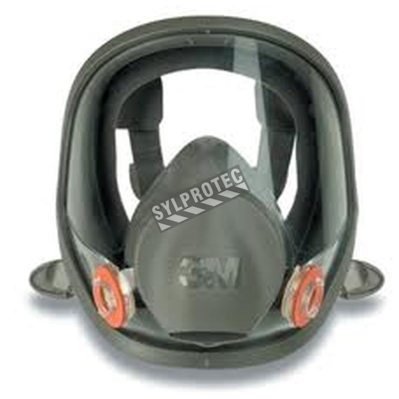 Masque complet de protection respiratoire de série 6000 de 3M. Homologué NIOSH. Cartouche & filtre non-inclus. Petit