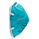 Masque de protection respiratoire doublé et étanche de 3M, N95. Fait pour le travail dans les établissements de santé.