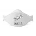 Respirateur N95 sans latex de 3M conçu pour les établissements de santé. Taille : petit. Vendu par boite de 20 unités.