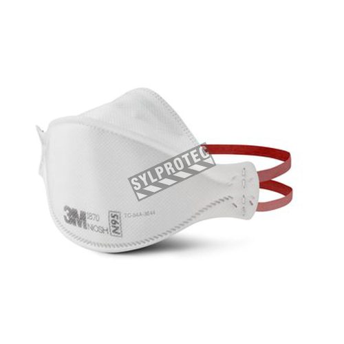 3M N95 NIOSH approved latex free particulate respirator. Made for health care facilities. Protects from non-oil based particles.
