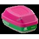 Cartouche combinée P100 de 3M pour l'ammoniac et la méthylamine, compatible avec la protection respiratoire de série 6000 & 7500