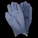 Gants de nylon gris enduit de polyuréthane pour une dextérité supérieure, 12 paires/paquet.