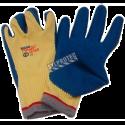 Gant Powergrab® en tricot de Kevlar en jauge 10 enduit de latex nervuré. Indice de résistance à la perforation ASTM/ANSI 2.
