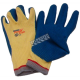Powergrab® 10-gauge Kevlar knit gloves with a wrinkle-grip latex coating up to the wrist. ASTM/ANSI puncture level 5