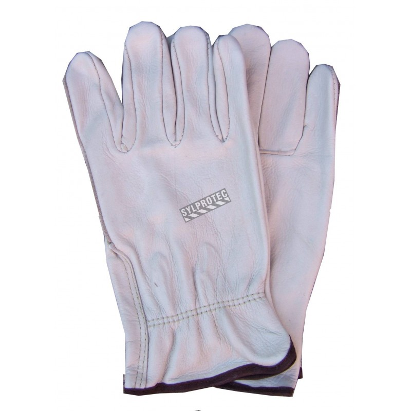 Driver winter glove , all leather.