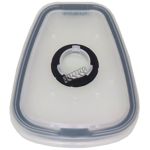 Adaptateur de 3M pour fixer un filtre à baïonnette à une cartouche 6000. Pour usage unique seulement. (2 unités)