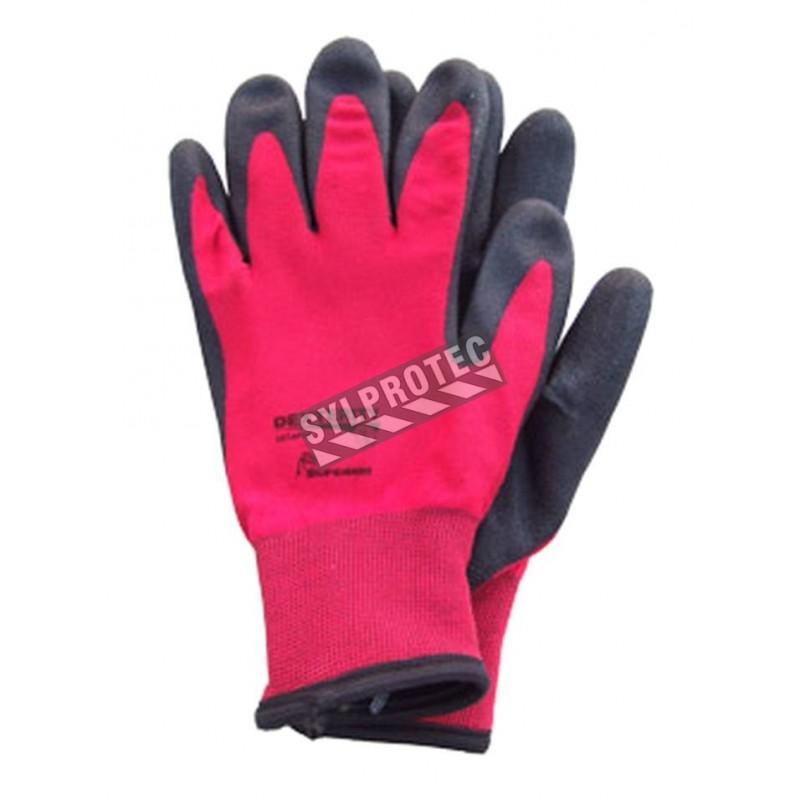 Dexterity® fleece lined knit winter gloves with wrinkle