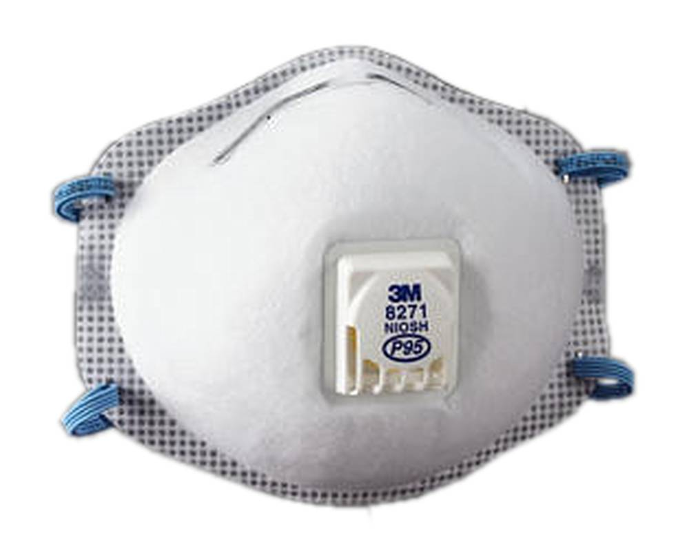 P95 3M/™ Particulate Respirator 8271 8 Boxes of 10 80 respirators