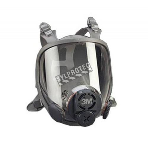 Masque complet de série 6000DIN de 3M pour systèmes de protection respiratoire à épuration d'air et à adduction d'air. Large.