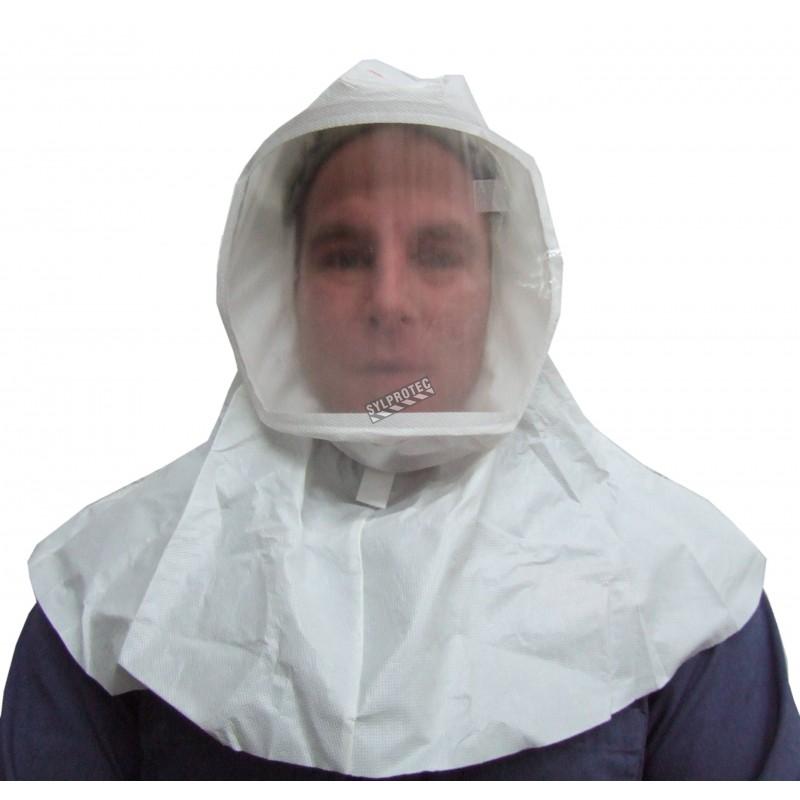 Cagoule blanche M/L de série S de 3M pour système de protection respiratoire en milieu pharmaceutique, médical & agroalimentaire
