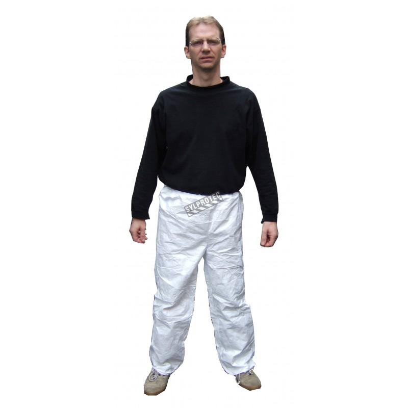 Pantalon jetable TYVEK avec élastique, bte/50 unités