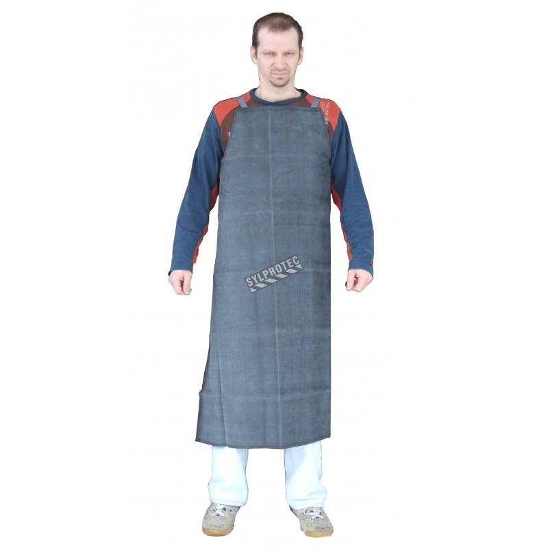 """Rubber apron size: 36"""" X 46"""""""