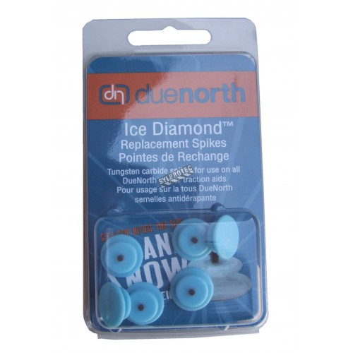 Replacement diamond spikes for get-a-grip pq/6