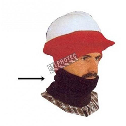 Col roulé de tricot d'acrylique
