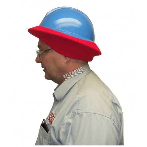 Winter liner for regular hard hat