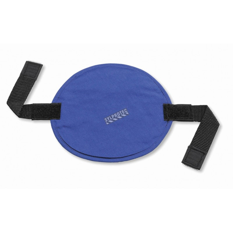 Evaporative cooling hard hat pad and liner, give fresh feeling.