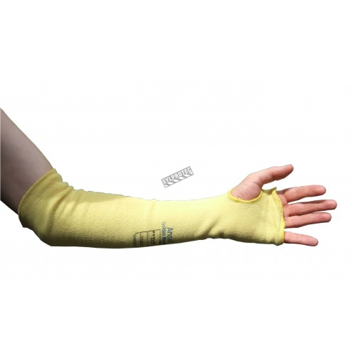 Kevlar sleeves cut-resistant level 3 with thumb hole