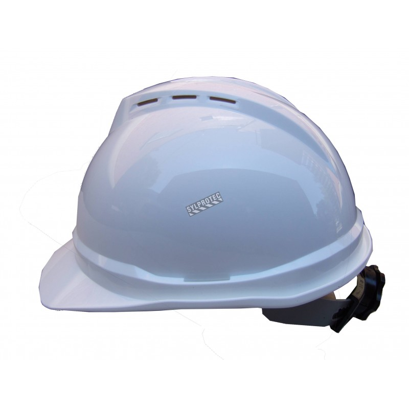 Vented  V-GUARD helmet 4 points, ratchet