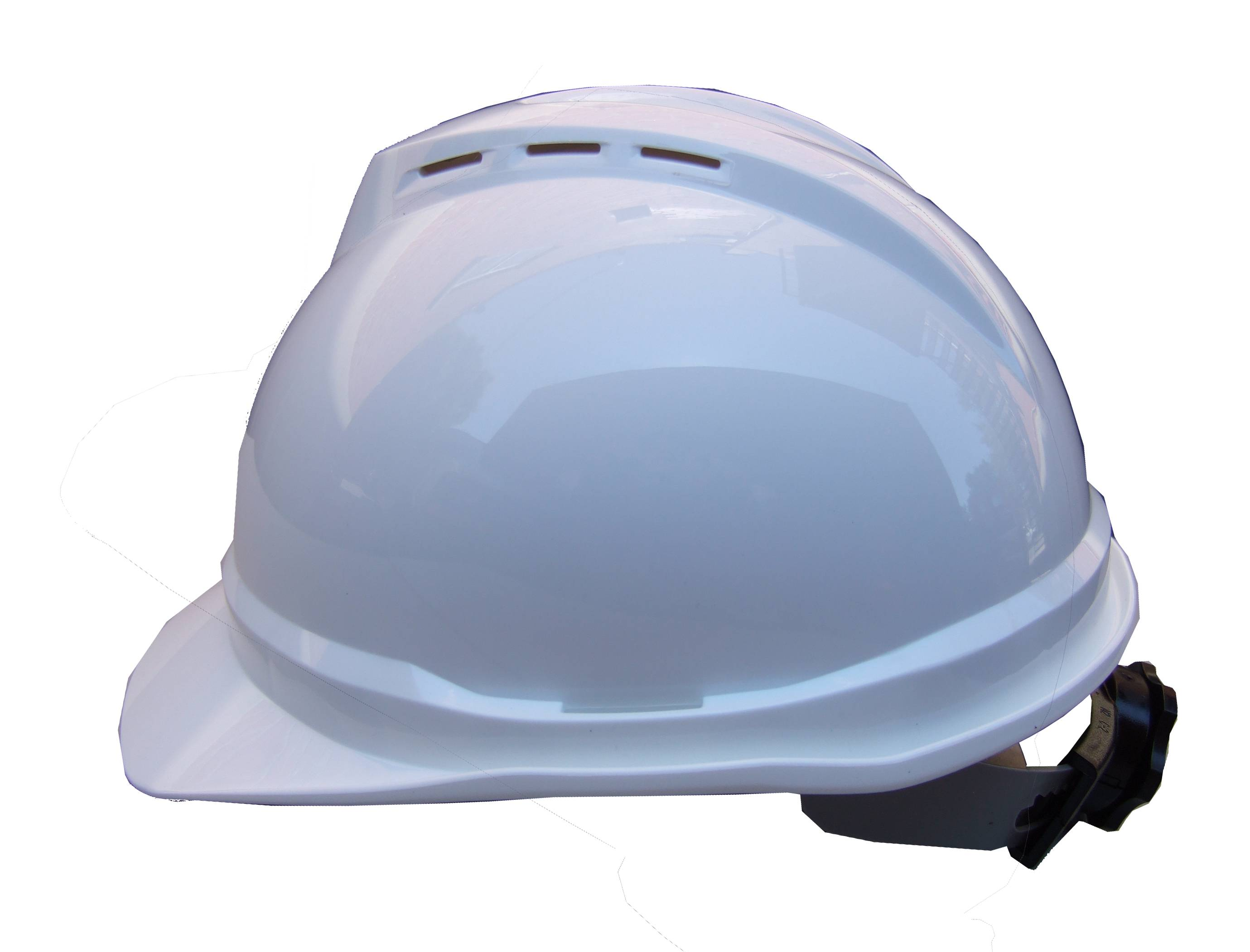 MSA® V-Gard 500™ vented hard hat CSA & ANSI type 1, class C approved with a  4-point suspension  Sold individually